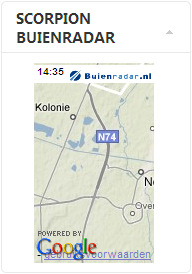 ScreenShot Buienradar